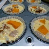 pumpkin egg muffins