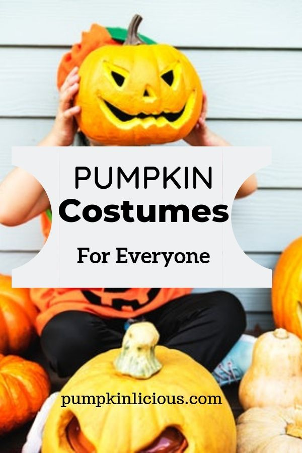 pumpkin costumes adults kids