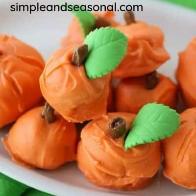 Cake ball pumpkin dessert recipe