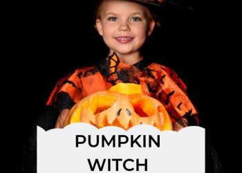 cute pumpkin witch costumes for girls