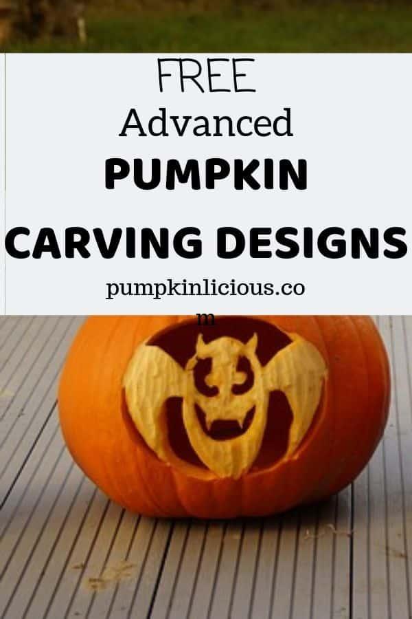 free advanced pumpkin carving designs