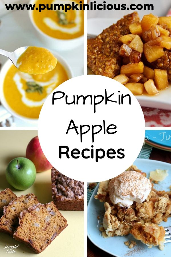 healthy pumpkin apple recipes