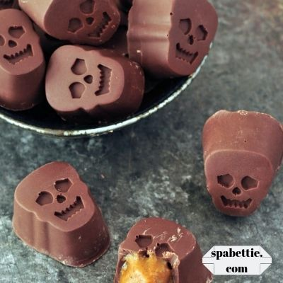 pumpkin halloween chocolates