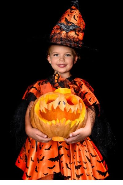 pumpkin witch costume
