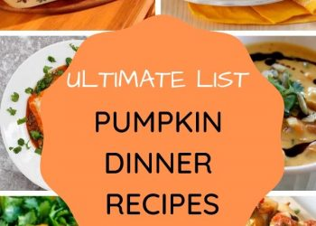 fall pumpkin dinner recipes