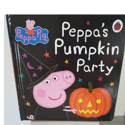 peppa pumpkin party book