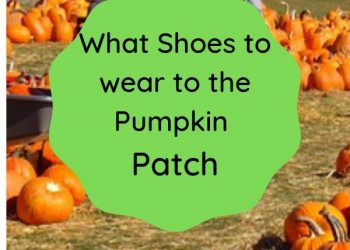 what shoes to wear to the pumpkin patch