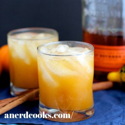 whiskey pumpkin cocktail