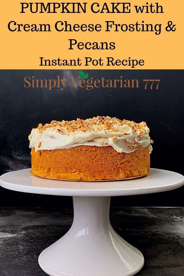 Easy Pumpkin Cake Instant Pot Recipe