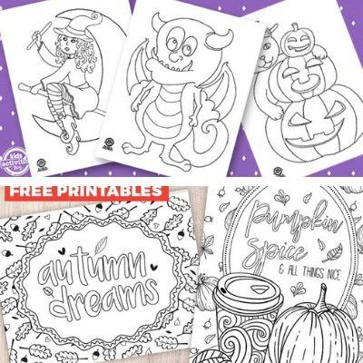PUMPKIN COLORING SHEETS