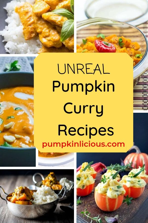pumpkin curry recipes