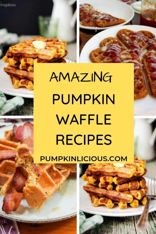 pumpkin waffle recipes