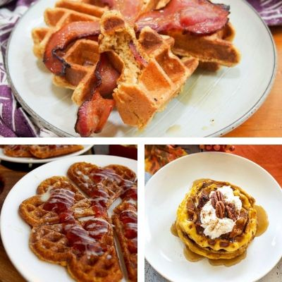 recipe for pumpkin waffles