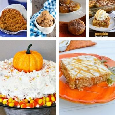 recipes with pumpkin and cake mix