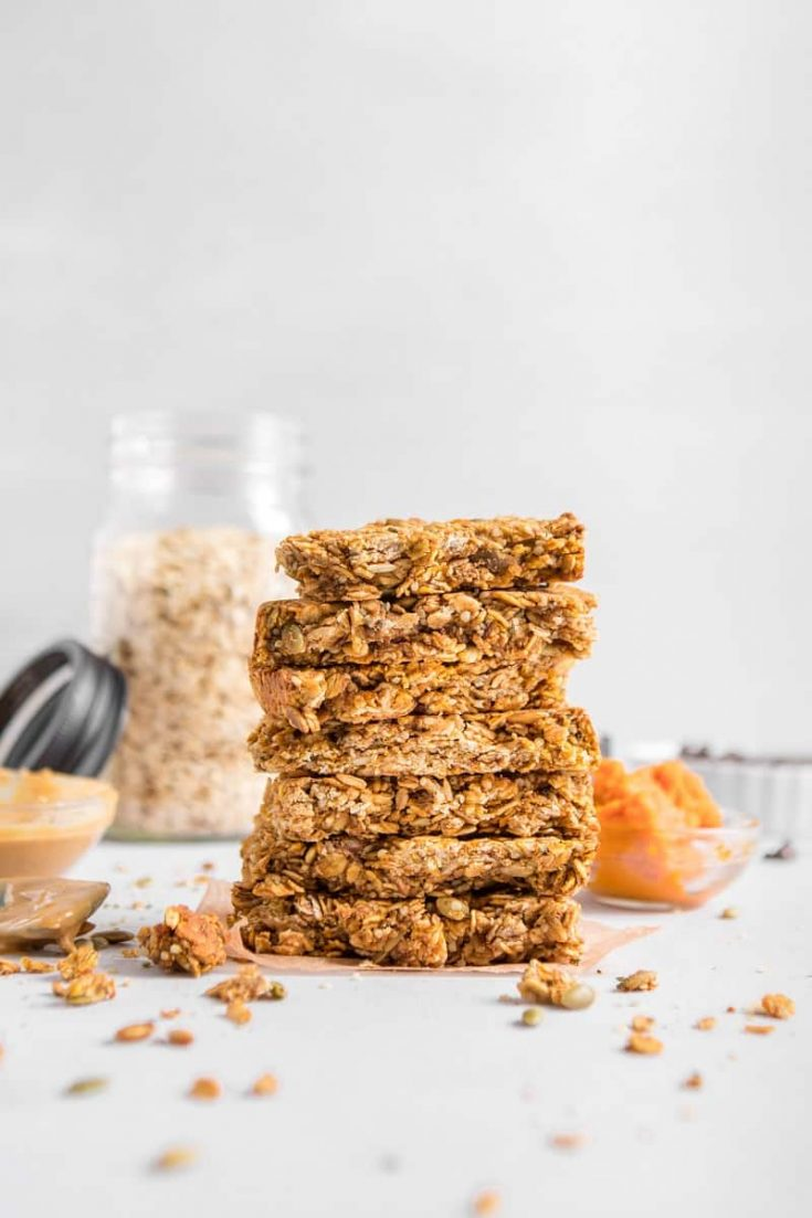 Homemade Pumpkin Hemp Bars (Vegan and Gluten Free)