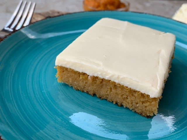 Pumpkin Bars { Low Carb | Keto | GF }