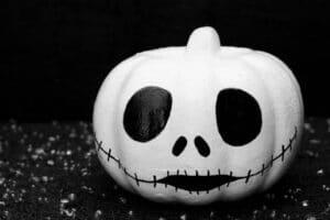 Jack Skellington Painted Pumpkin Idea