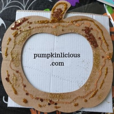 pumpkin wreath fall craft