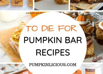 BEST PUMPKIN BAR RECIPES