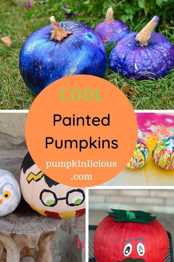 cool painted pumpkin ideas