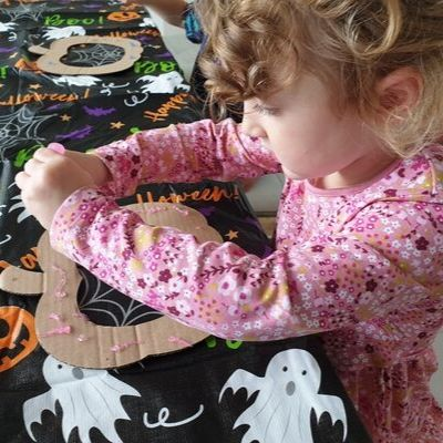 preschool pumpkin craft