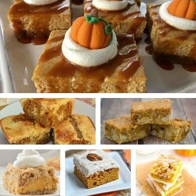 best pumpkin bar desserts