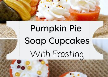 pumpkin pie soap cupcakes
