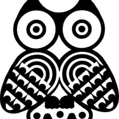 owl pumpkin stencils