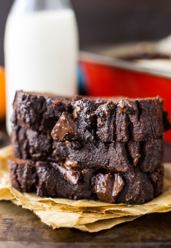 Double Chocolate Paleo Pumpkin Bread