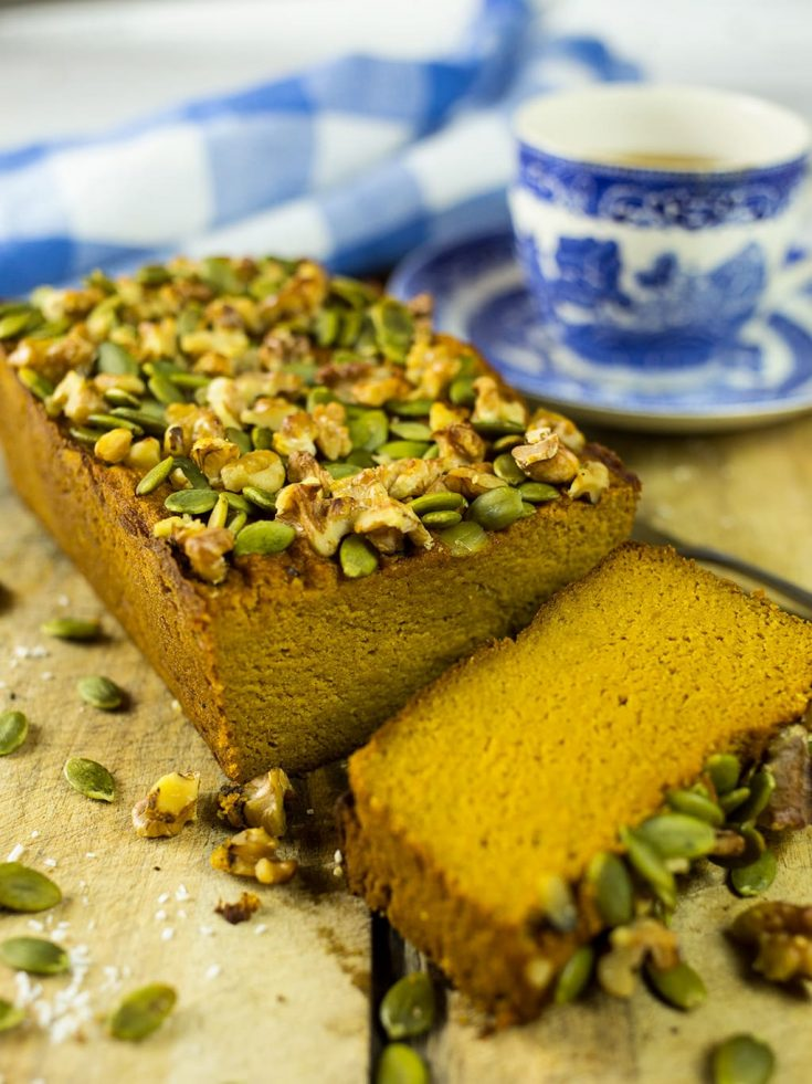 Spiced Paleo Pumpkin Bread