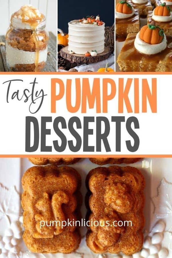 Tasty Pumpkin Desserts