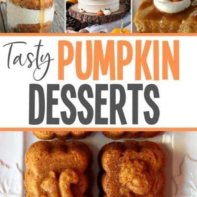 delicious pumpkin desserts