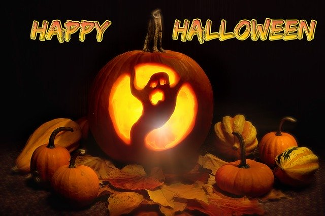 Scary Pumpkin Face for Halloween