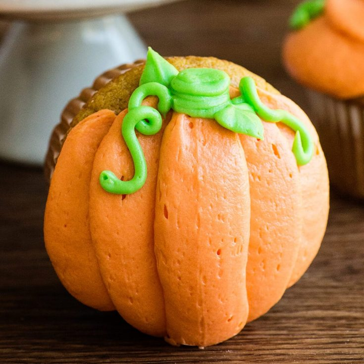 Pumpkin Cupcakes recipe and video