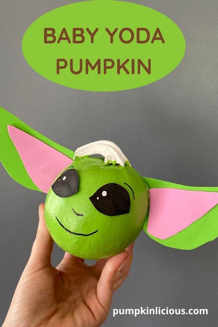 Yoda Pumpkin Painting