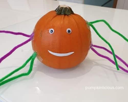 pumpkin spider crafts