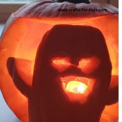 ghost pumpkin carving