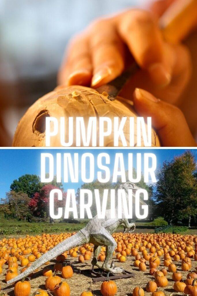 Dinosaur Pumpkin Carving Patterns