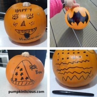 pumpkin decorating ideas with markers